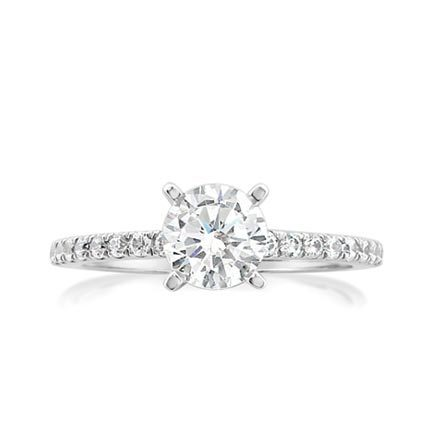 Photo Of A Classic Enement Ring