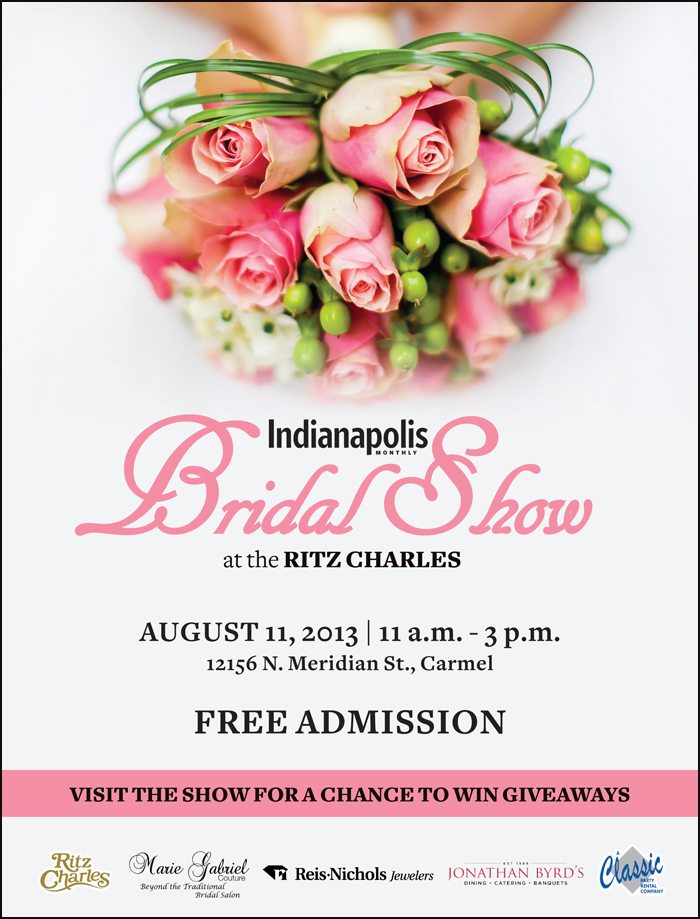 Indianapolis Monthly Bridal Show at the Ritz Charles