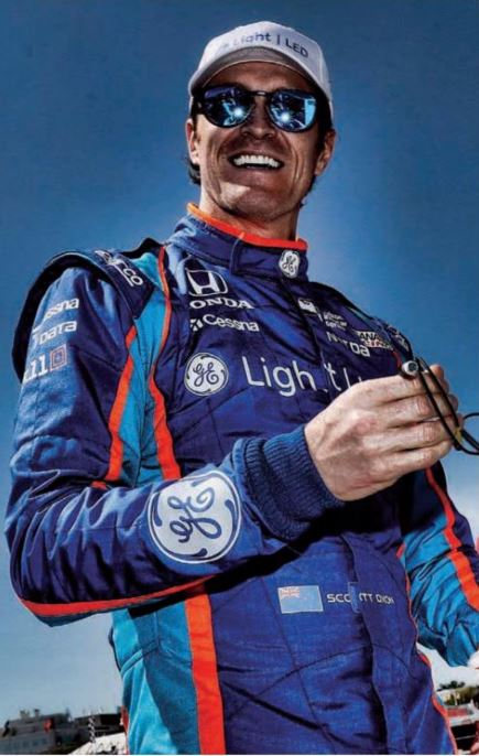 scott dixon racing and timepieces