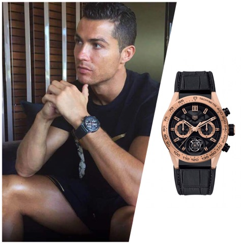 Designer spotlight tag heuer ambassadors here to up your wrist game for Cristiano ronaldo tag heuer