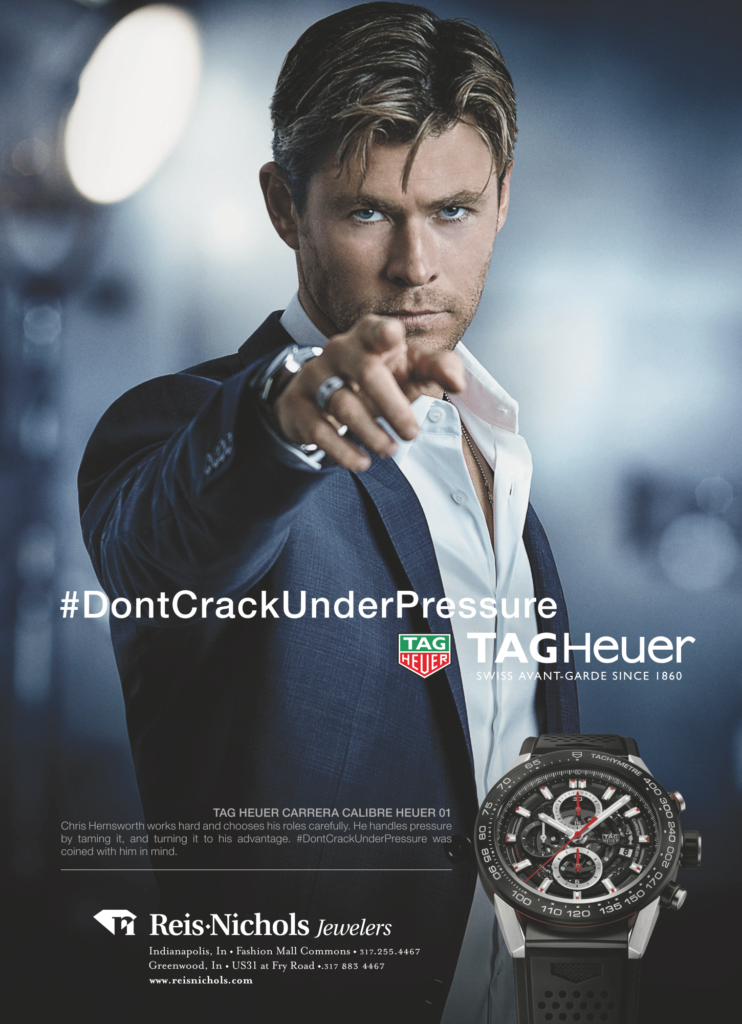 reis-nichols holiday shopping gift guide tag heuer