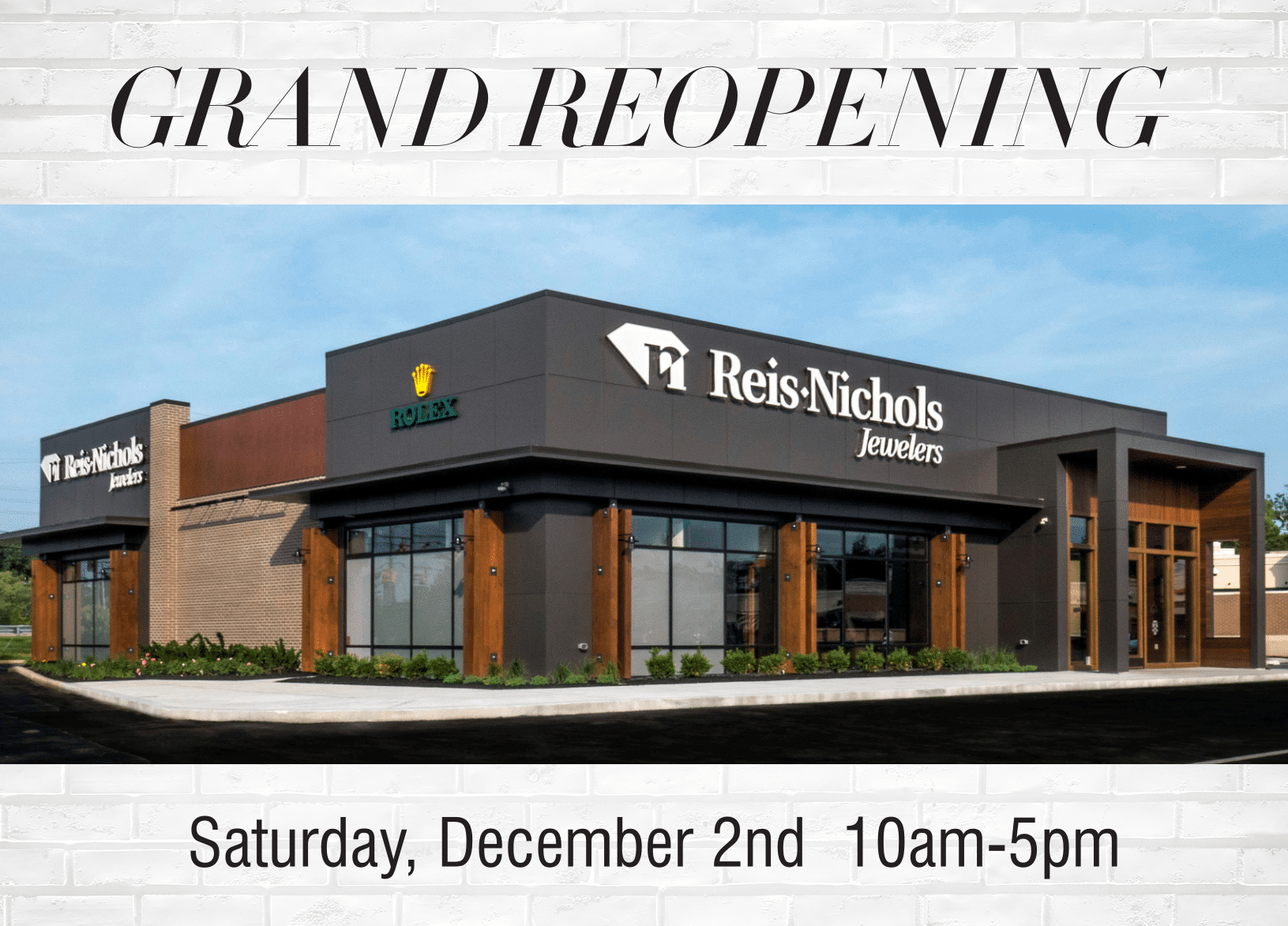 reis-nichols grand reopening