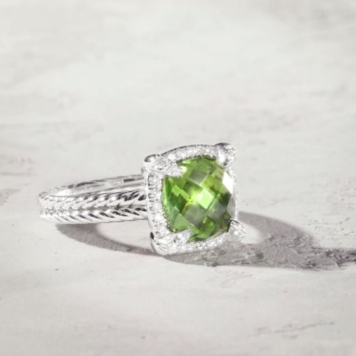 birthstones and anniversary gems peridot