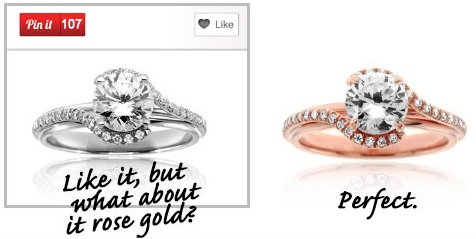 if you can pin it we can make it custom engagement ring pinterest