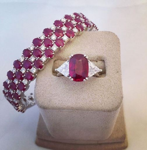 birthstones and anniversary gems ruby