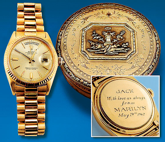 watches worn by presidents
