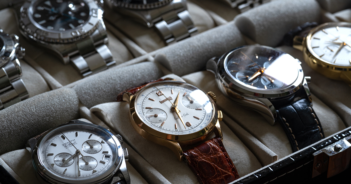 watch collector