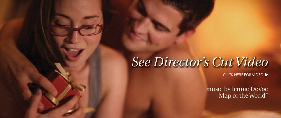 See the Director's Cut Video. Music by Jennie DeVoe - Map of the World.