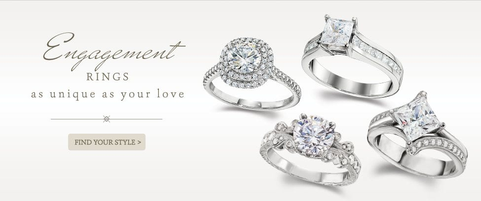 Engagement rings as unique as your love