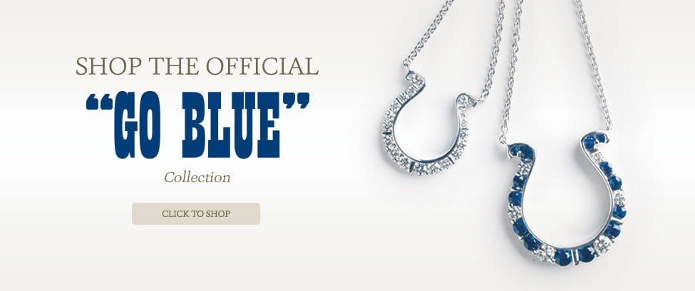Shop the official Go Blue Collection. Click to shop.