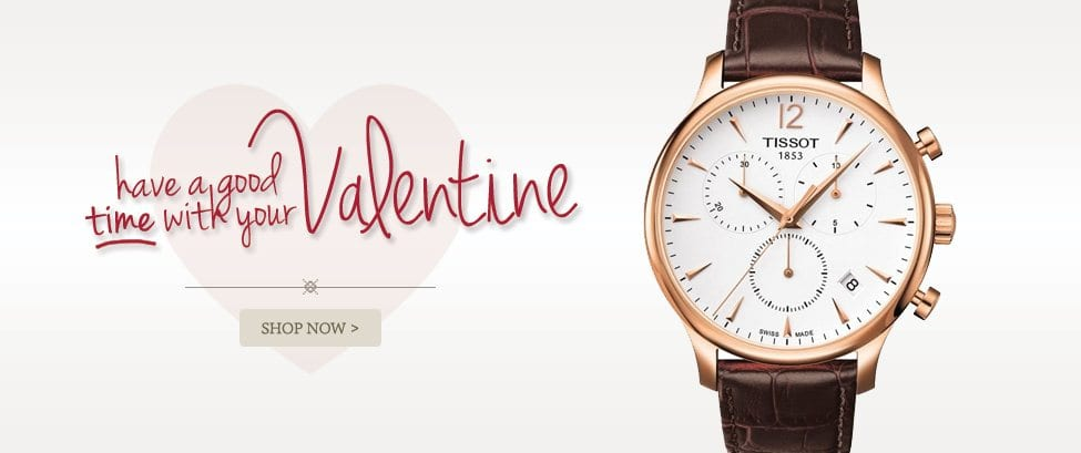 Shop Watches for Your Valentine