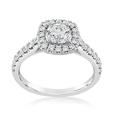 Complete 1.25 Carat Diamond Engagement Ring