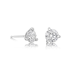 1 1/4 Carat Diamond Stud Earrings
