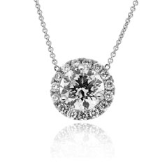 1.23 Carat Diamond Margarita Necklace