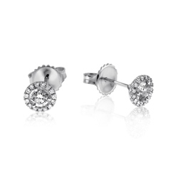 1/3 Carat Diamond Margarita Studs