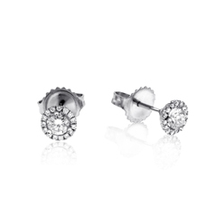 1/4 Carat Diamond Margarita Studs