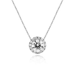 1.81 Carat Diamond Margarita Necklace