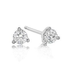 2/3 Carat Diamond Stud Earrings