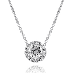 .31 Carat Diamond Margarita Necklace