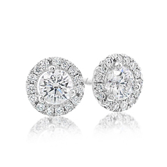 3/4 Carat Diamond Margarita Studs