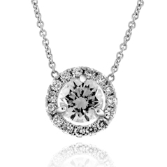 .59 Carat Diamond Margarita Necklace
