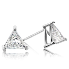 .73 Carat Diamond Stud Earrings