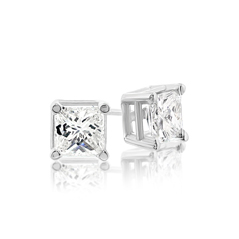 .85 Carat Diamond Stud Earrings