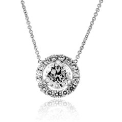 .93 Carat Diamond Margarita Necklace