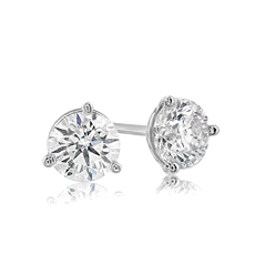 .93 Carat Diamond Stud Earrings