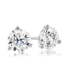 .98 Carat Diamond Stud Earrings