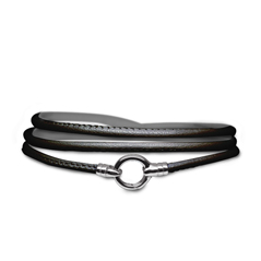AARON BASHA Leather Cord Wrap Bracelet