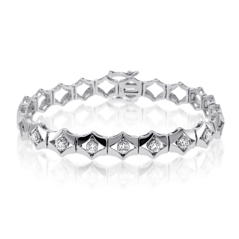 Add-A-Diamond Link Bracelet