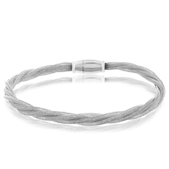 Amore Sterling Silver Plated Bracelet