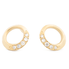 ANNE SPORTUN Diamond Stud Earrings