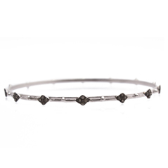ARMENTA New World Cravelli Champagne Diamond Bangle