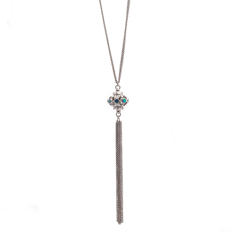 ARMENTA New World Opal & Champagne Diamond Necklace