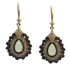 ARMENTA Old World Chrysoprase Earrings