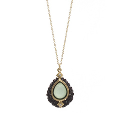 ARMENTA Old World Chrysoprase Pendant