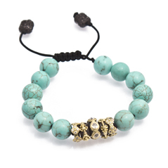 ARMENTA Old World Magnesite Beaded Bracelet
