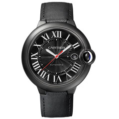 CARTIER Ballon Bleu Carbon 42mm Watch