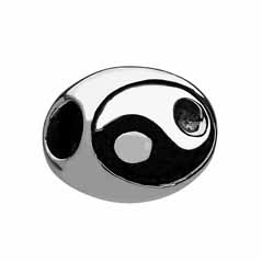 CHAMILIA Sterling Silver Yin and Yang Charm