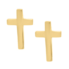 Children's Cross Earrings