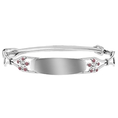 Children's Forget Me Not Flower Bangle