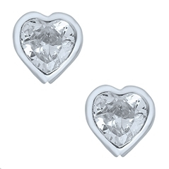 Children's Heart Earrings