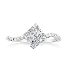 Complete 0.40 Carat Diamond Engagement Ring