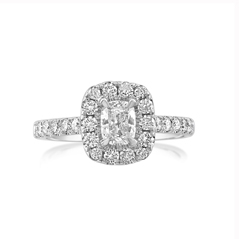 Complete 1.06 Carat Diamond Engagement Ring