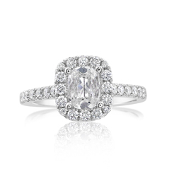 Complete 1.11 Carat Diamond Engagement Ring