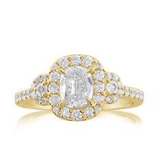 Complete 1.14 Carat Diamond Engagement Ring