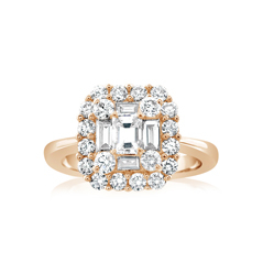 Complete 1.30 Carat Diamond Engagement Ring
