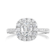 Complete 1.31 Carat Diamond Engagement Ring